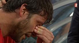 Las lágrimas de una leyenda. Twitter