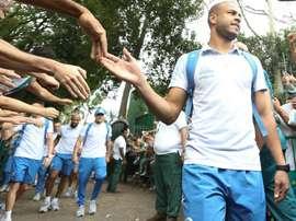 Mayke pasó dos años cedido en Palmeiras. Palmeiras