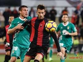 El Reus visitará esta semana el Carlos Tartiere. LaLiga/Archivo