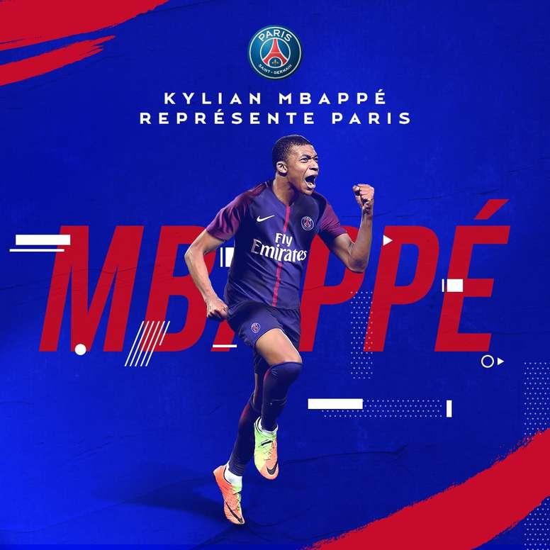 Mbappé rejoint le PSG. PSG