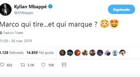 Mbappé a ri du but de Verratti. capture/Twitter/Mbappé