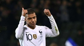 Mbappe wants 15 million euros a year. AFP