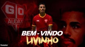 MC Livinho cancelou carreira no futebol antes de ser apresentado pelo Audax. AudaxOsasco