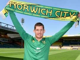 McGovern, nuevo jugador del Norwich. NorwichCityFC