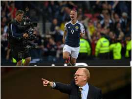 McLeish and Griffiths are rumoured to be at loggerheads over various issues in recent weeks. AFP