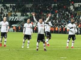 El Besiktas venció por 0-1 al Genclerbirligi SK. Twitter/Besiktas