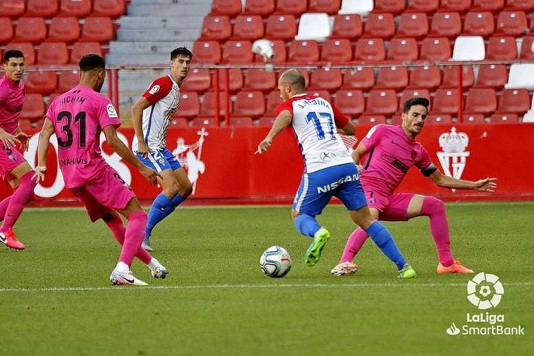 Sporting y Ponferradina se enfrentan en El Molinón. LaLiga