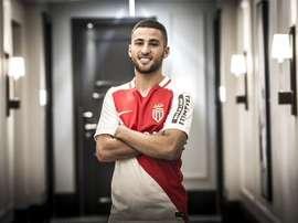 Mehdi Beneddine, joueur de l'AS Mónaco. ASMonaco