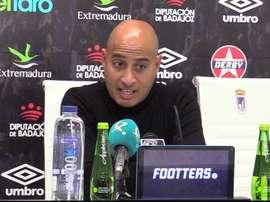 Nafti cree que pudieron haber ganado al Granada. ClubDeportivoBadajoz