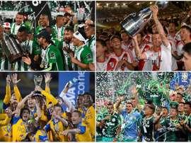 Les meilleures équipes d'Amérique du Sud de l'année 2016. Besoccer