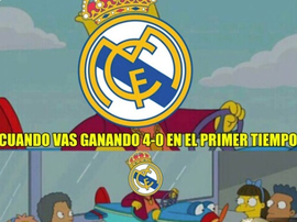Los memes del Madrid inundaron las redes. Twitter