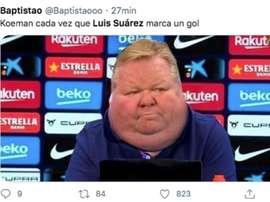 Los mejores memes del Atlético-Valencia. Captura/Twitter