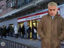 La etapa de Mou en el Manchester United ha llegado a su fin. Twitter