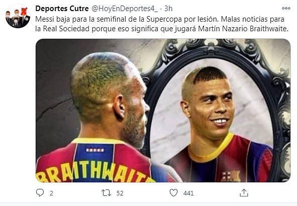 Los mejores memes del Real Sociedad-Barcelona. Twitter