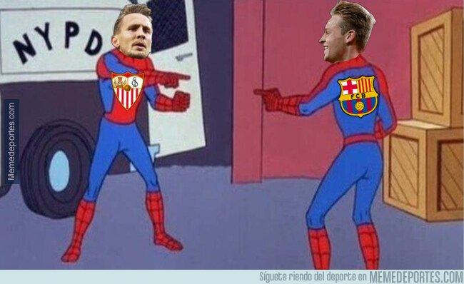 Meme Barcelona-Sevilla 06-10-2019 01. MemeDeportes