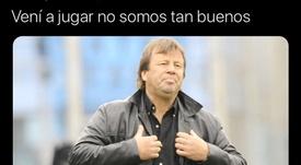 Los memes del plante de River a Atlético Tucumán. Twitter/LaloCalizado