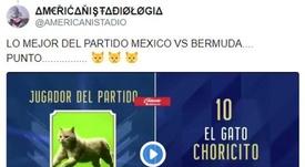 Los mejores 'memes' del México-Bermudas. Americanistadio