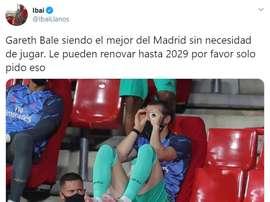 Los mejores memes del Granada-Real Madrid. Twitter/IbaiLlanos