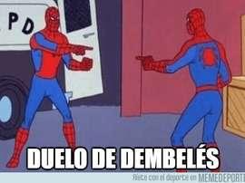 Los mejores 'memes' del Lyon-Barça. MemeDeportes