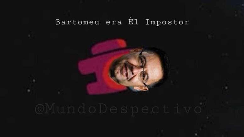 Los mejores memes de la dimisión de Bartomeu en el Barcelona. MundoDespectivo