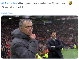 There were lots of memes about Mourinho. Twitter/SabeloSabby