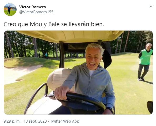 Los mejores memes de la vuelta de Bale. Twitter/VictorRomero155