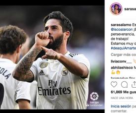 Sara Salálamo a dédié un message à son petit ami. Instagram/SaraSalamo