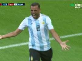Mercado, un héros inattendu. Twitter/DIRECTVSports