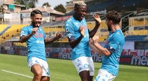 El Nápoles asaltó Croacia remontando un gol en contra. EFE/Archivo