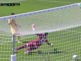 Messi ha firmato il raddoppio. MovistarLaLiga