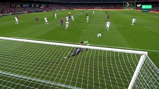 Canhota de Ouro: golaço de Messi! Captura/MovistarLaLiga