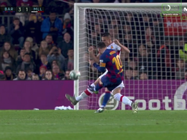 Ne jamais énerver Leo Messi. Capture/MovistarLaLiga