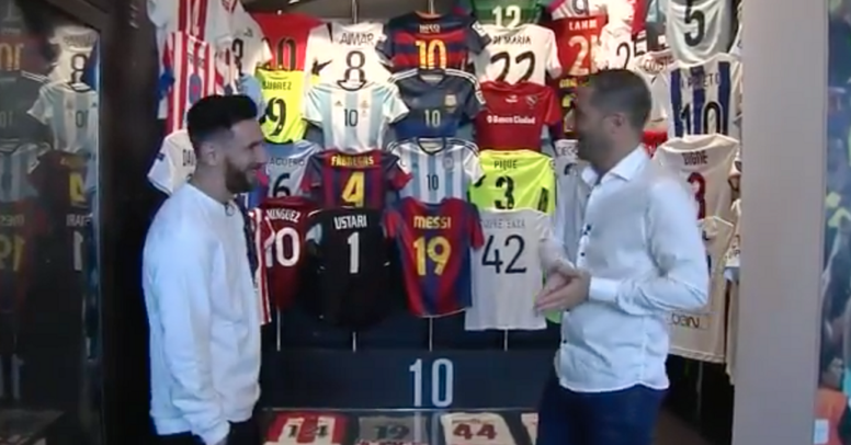 Messi doesn't want to think about his former teammate moving to Real. TyCSports