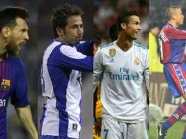 essi, Tamudo, Cristiano et Luis Enrique, parmis les joueurs les plus prolifiques. BeSoccer