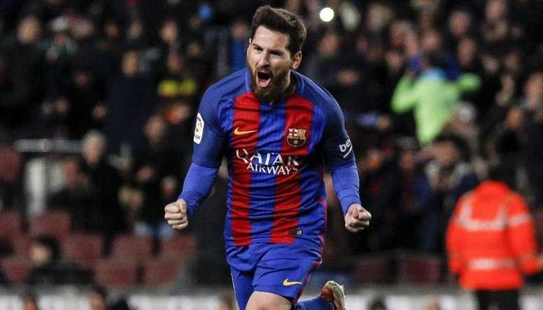 Trippier elogiou Lionel Messi na véspera do duelo contra o time catalão. EFE