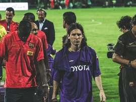 Quando Messi indossò la maglia della Fiorentina. ACFiorentina