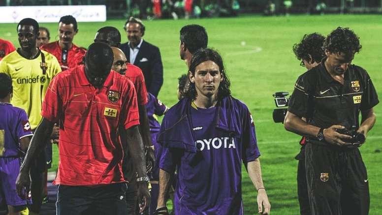 Le jour où Messi a porté le maillot de la Fiorentina. ACFFiorentina