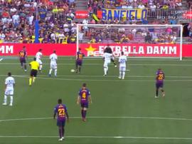 Messi incanta il Camp Nou. Twitter/FCBarcelona