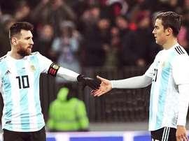 Messi jouera la Copa América, Dybala non. Instagram