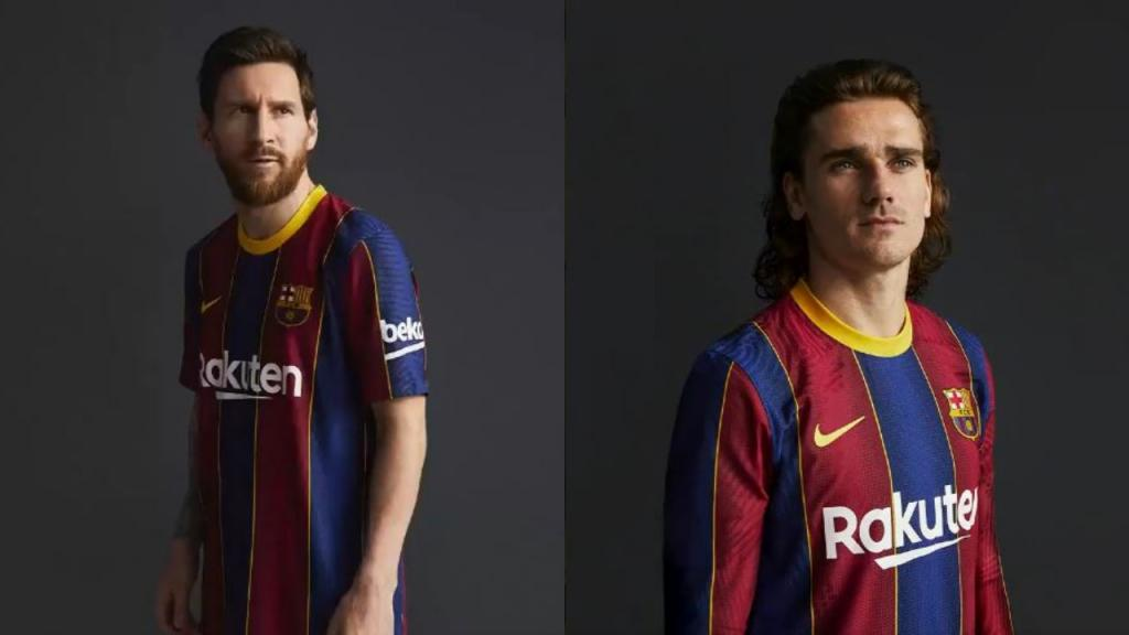 the stripes are back barca s kit for 2020 21 besoccer kit for 2020 21