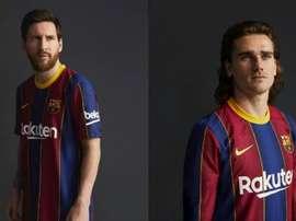 O Barça apresenta seu uniforme para temporada 2020-21. FCBarcelona
