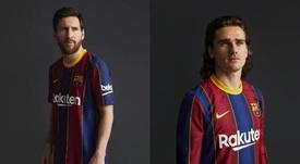Le Barça a dévoilé son prochain maillot. FCBarcelona