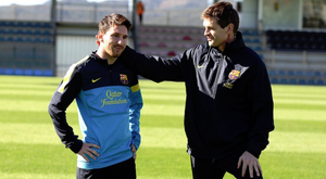 Tito told Messi to stay at Barça just six days before his death. FCBarcelona