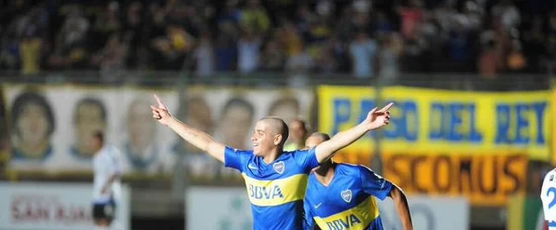 Messidoro is set to make his debut for Boca Juniors. Twitter