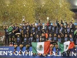 México se proclama campeón del Torneo Preolímpico de la Concacaf.