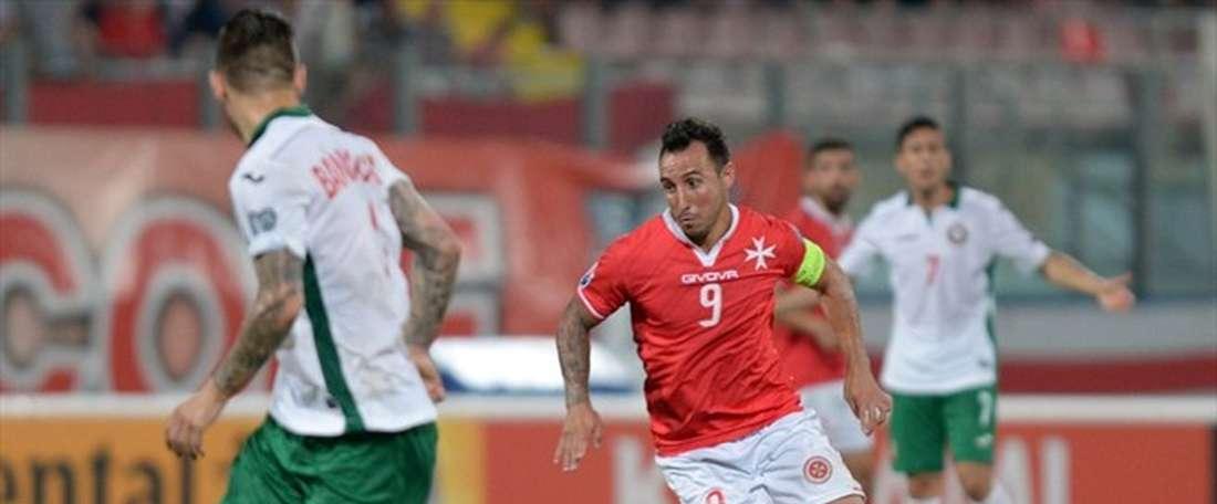 Michael Mifsud está muy cerca, nuevamente, de hacer historia con Malta. UEFA