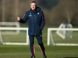 El entrenador del Stoke City, positivo por COVID-19. Twitter/StokeCity