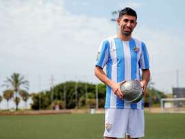 Michael Santos es una de las caras nuevas del equipo de Juande Ramos. MálagaCF