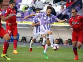 El Valladolid pudo recuperarse del tanto del Numancia, pero no logró vencer. RealValladolid