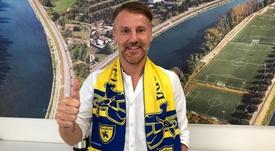 Marcolini, nuevo entrenador del Chievo. ChievoVerona